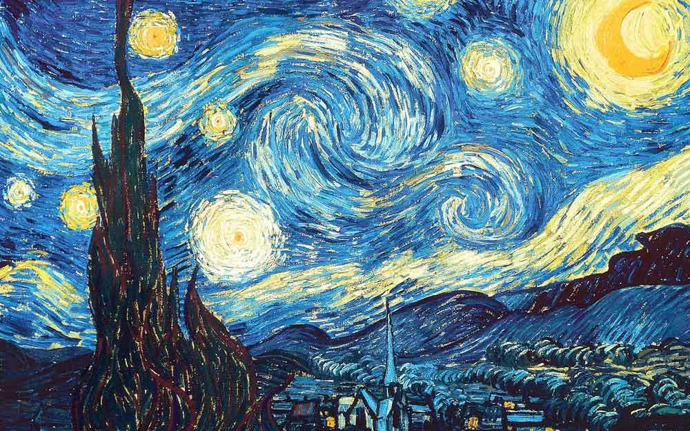 มาดูศิลปินหนุ่มสุดเจ๋งเปลี่ยนน้ำให้กลายเป็นภาพเขียนชิ้นเอกของแวนโก๊ะ