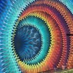งานศิลปะบนกำแพงที่เหมือนเป็นประตูทะลุสู่อีกมิติหนึ่งได้