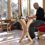 Sprang Chair เก้าอี้เพื่อสุขภาพรุ่นใหม่ที่นั่งแล้วเคลื่อนไหวได้เอง