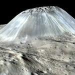 """นาซาค้นพบ """"ภูเขาไฟน้ำแข็ง"""" ขนาดครึ่งหนึ่งของเอเวอเรสต์ บนดาวเคราะห์แคระซีรีส"""