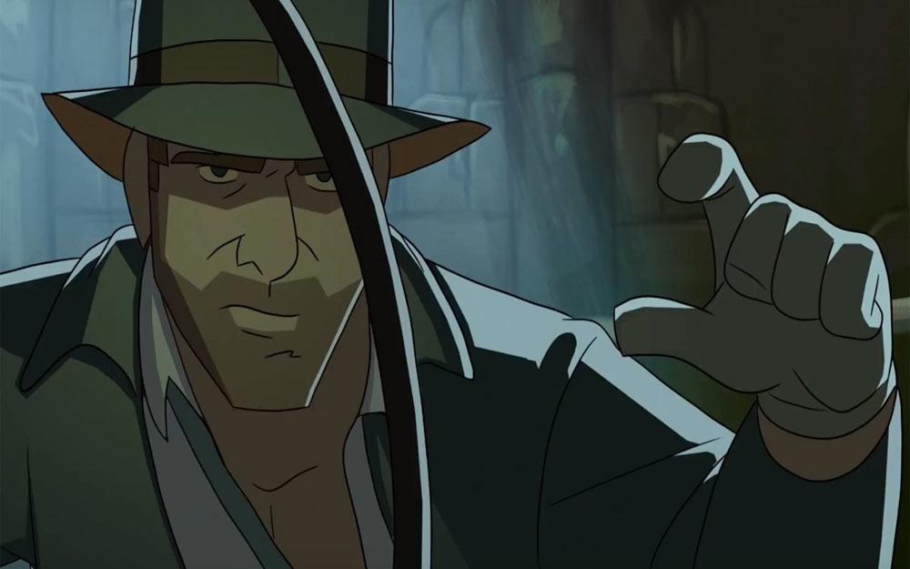 ชมการ์ตูนสั้นสนุกๆเรื่อง Indiana Jones ที่ยังไม่เคยมีใครทำมาก่อน