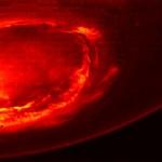 ชมภาพล่าสุดของขั้วเหนือและภาพแสงใต้ของดาวพฤหัสจากยานจูโน