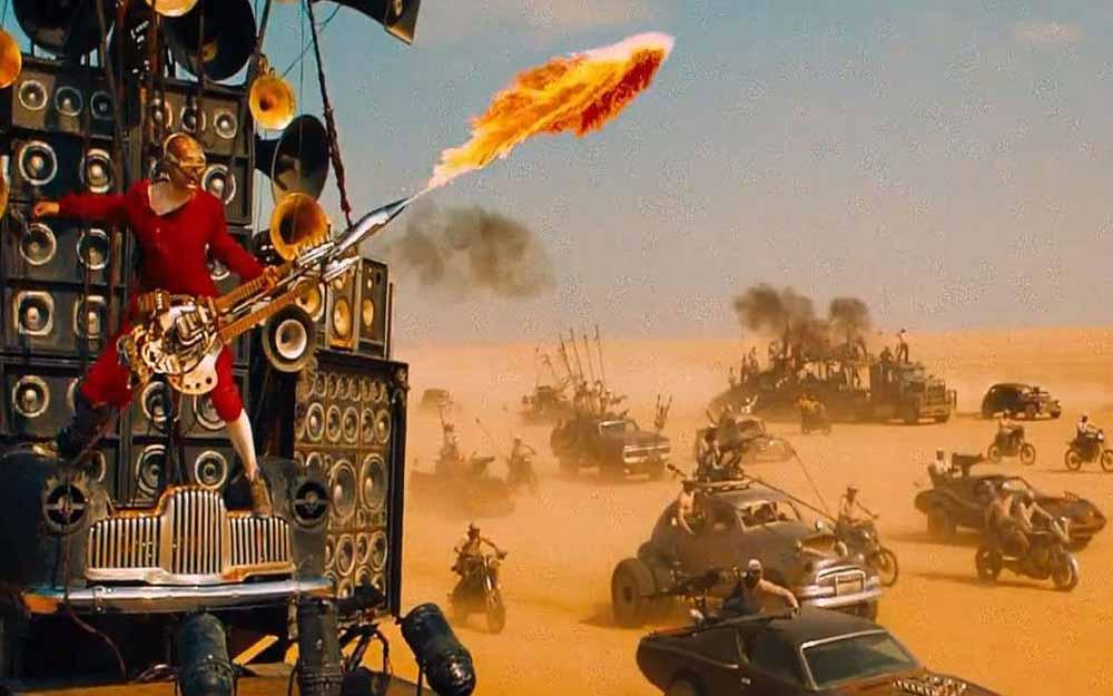 ชมวิดีโอสุดมันส์ ภาพดิบๆเบื้องหลังการถ่ายทำหนัง Mad Max: Fury Road