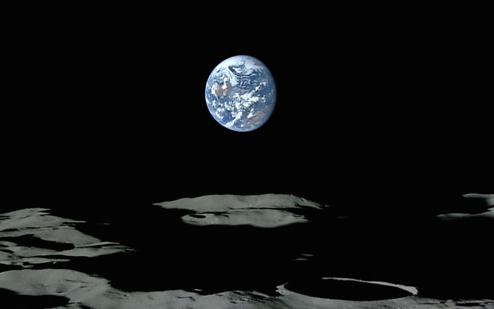 ชมโลกขึ้นและโลกตกในมุมมองจากดวงจันทร์…สวยงามเหนือจินตนาการ