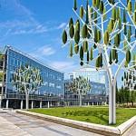 Wind Tree ต้นไม้กังหันลม ผลิตไฟฟ้าสำหรับใช้ในบ้านตามพื้นที่ชุมชนเมือง
