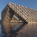 ตึกสวยในทะเลสาบที่อัมสเตอร์ดัม อีกหนึ่งผลงานการออกแบบที่ยอดเยี่ยมที่สุด