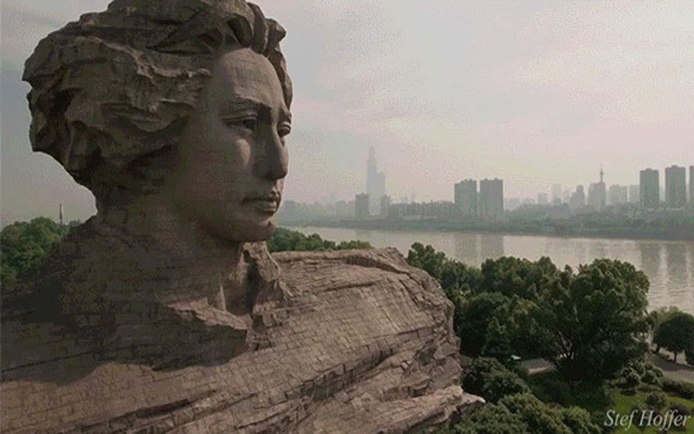 ชมธรรมชาติและสิ่งก่อสร้างที่สวยงามและยิ่งใหญ่ของประเทศจีนจากบนฟ้า