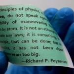 กระดาษชนิดใหม่ใช้พิมพ์ด้วยแสง ไม่ใช้หมึก ลบได้ง่าย พิมพ์ซ้ำได้กว่า 80 ครั้ง