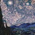 ภาพเมฆหมุนวนบนดาวพฤหัสดูราวกับท้องฟ้าในภาพเขียนดังของแวนโก๊ะ