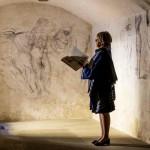 เผยภาพสเก็ตช์ฝีมือของ 'ไมเคิลแองเจโล' ที่ซุกซ่อนอยู่ในห้องลับนานหลายศตวรรษ
