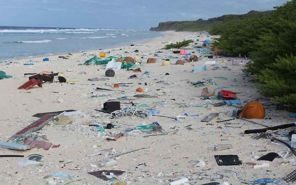 เกาะในฝันอันไกลโพ้นกลายเป็นดงขยะพลาสติกที่หนาแน่นที่สุดซะแล้ว