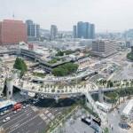 เกาหลีใต้แปลงโฉมสะพานยกระดับเก่าเป็นสวนลอยฟ้า SkyGarden เสร็จแล้ว