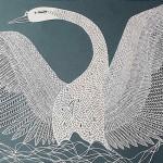 งานศิลปะตัดกระดาษที่ประณีตวิจิตรสุดประทับใจราวกับมีชีวิตจริง