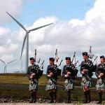 สกอตแลนด์ผลิตไฟฟ้าด้วยพลังลม 124% ของที่บ้านทั้งหมดใช้ในครึ่งแรกของปีนี้