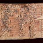 แผ่นจารึกของชาวบาบิโลนอายุ 3,700 ปีคือตารางตรีโกณที่เก่าแก่ที่สุดในโลก