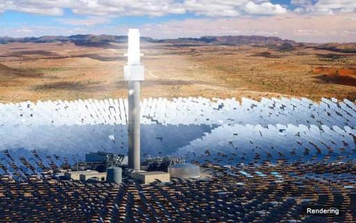 ออสเตรเลียสร้างโรงไฟฟ้าพลังความร้อนแสงอาทิตย์หอคอยเดี่ยวใหญ่ที่สุดในโลก