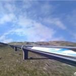 """จีนคุยโวจะสร้าง """"รถไฟบิน"""" ที่แล่นด้วยความเร็วสูงสุดถึง 4,000 กม./ชม."""