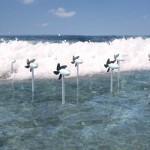ญี่ปุ่นคิดค้นกังหันผลิตไฟฟ้าจากคลื่นซัดกระแทกฝั่งและช่วยป้องกันชายฝั่งด้วย