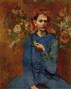 Pablo-Picasso-rose-1