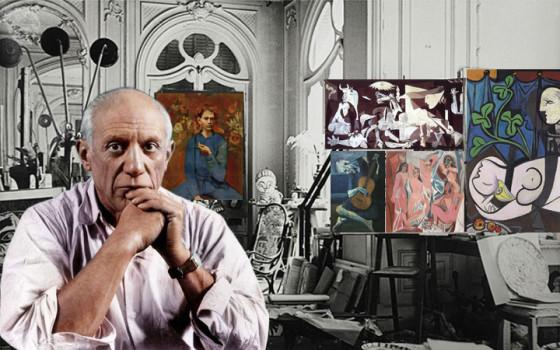 ปาโบล ปีกัสโซ อัจฉริยะศิลปินเปี่ยมพรสวรรค์ผู้สร้างสรรค์ศิลปะหลากสไตล์