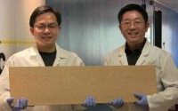 Super wood ไม้อัดชนิดใหม่แข็งแกร่งกว่าโลหะผสมไทเทเนียม แต่เบากว่าถูกกว่า