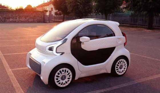 LSEV รถยนต์ไฟฟ้าชิ้นส่วนผลิตด้วยเครื่องพิมพ์สามมิติทั้งคันเบาทั้งน้ำหนักและราคา