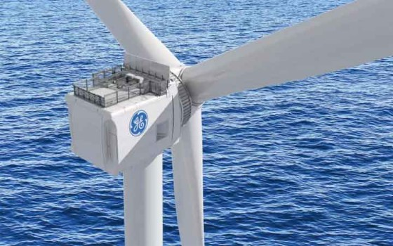 GE ประกาศสร้างกังหันลมใหญ่ตัวที่สุดในโลกขนาด 12 เมกะวัตต์ในอังกฤษ