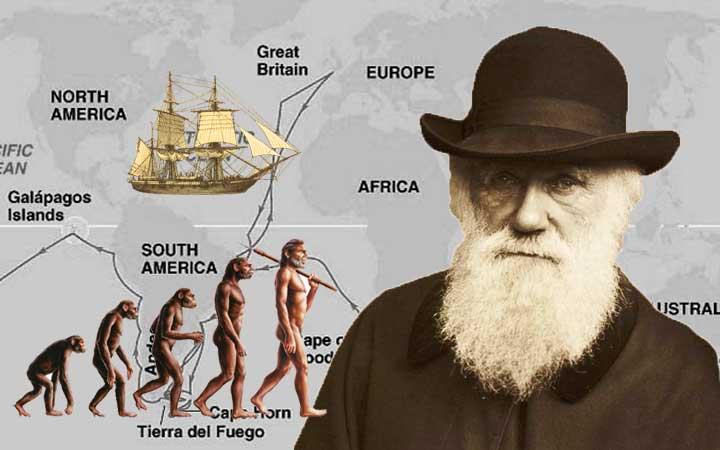 ชาลส์ ดาร์วิน ผู้เขย่าโลกให้สะเทือนด้วยทฤษฎีวิวัฒนาการของสิ่งมีชีวิต