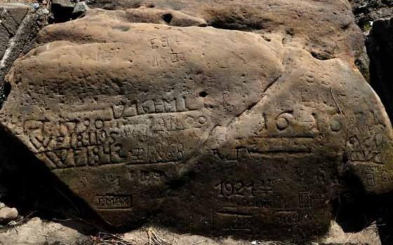 คำเตือนภัยแล้งจากหินเก่าแก่ปรากฏโฉมขึ้นอีกครั้งในทวีปยุโรป