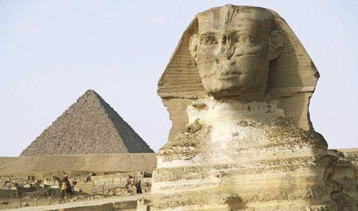 สฟิงซ์ของอียิปต์โบราณตัวที่สองถูกค้นพบระหว่างการทำงานก่อสร้างถนน