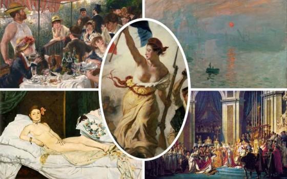 10 สุดยอดศิลปินเอก/จิตรกรเอกชาวฝรั่งเศสกับ 10 ผลงานชิ้นเอก