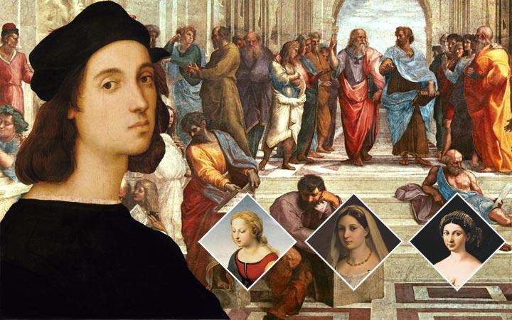 ราฟาเอล เจ้าชายจิตรกรแห่งยุคเรอเนสซองส์เจ้าของผลงานสุดงดงามยิ่งใหญ่ตระการตา