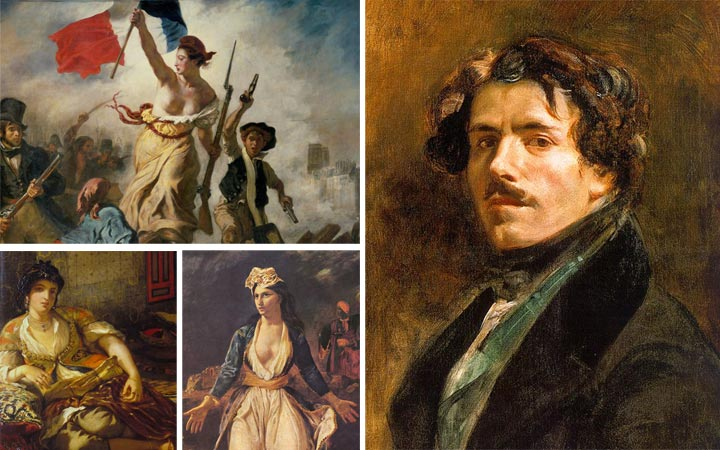 เออแฌน เดอลาครัว ผู้นำแห่งศิลปะโรแมนติกเจ้าของภาพเขียนเร้าอารมณ์สะเทือนใจ
