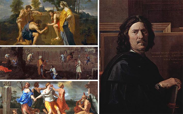 นีกอลา ปูแซ็ง ต้นแบบศิลปะคลาสสิกฝรั่งเศสผู้เขียนภาพทิวทัศน์ได้สวยงามที่สุด