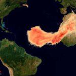 พายุทะเลทรายในแอฟริกาพัดฝุ่นก้อนมหึมาข้ามมหาสมุทรไปถึงสหรัฐอเมริกา