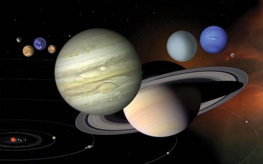 ดูกันชัดๆในวิดีโอว่าดาวเคราะห์ไม่ได้โคจรรอบจุดศูนย์กลางของดวงอาทิตย์