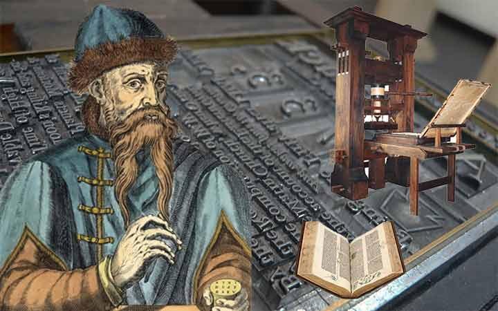 โยฮันน์ กูเทนแบร์ก ผู้ปฏิวัติการเผยแพร่ความรู้และข่าวสารด้วยเทคโนโลยีการพิมพ์