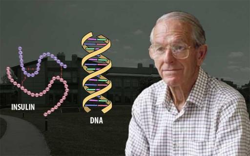 เฟรเดอริก แซงเจอร์ นักชีวเคมี 2 รางวัลโนเบลผู้ค้นพบโครงสร้างโปรตีนอินซูลิน