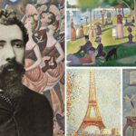 ฌอร์ฌ-ปีแยร์ เซอรา ศิลปินผู้คิดค้นเทคนิคผสานจุดสีต้นแบบลัทธิประทับใจใหม่