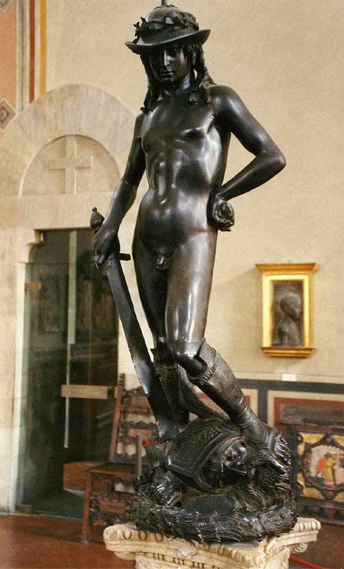 bronze-david