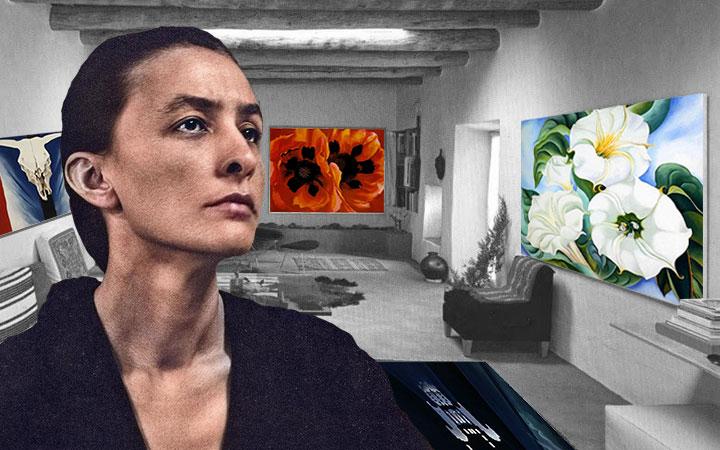 จอร์เจีย โอคีฟ ศิลปินจอมสร้างสรรค์ผู้เขียนภาพราคาแพงที่สุดในโลกฝ่ายหญิง