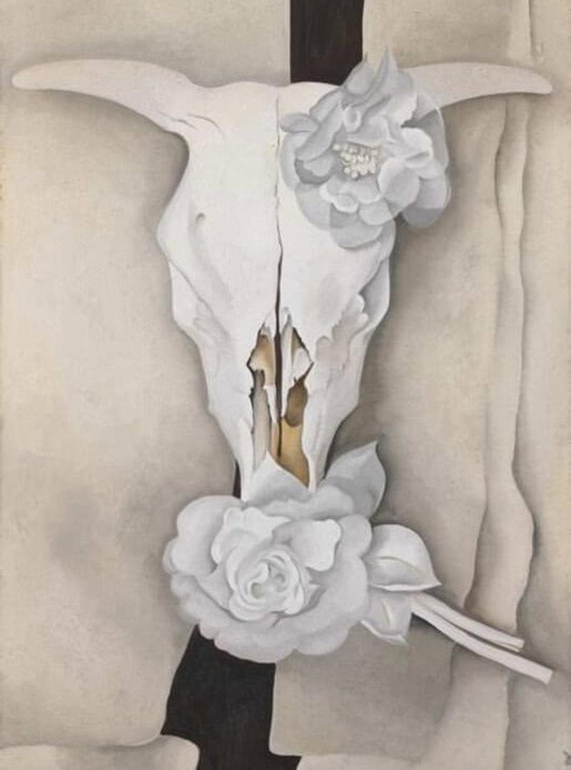 georgia-okeeffe-skull-shell-still-life-03