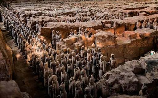 """10 เรื่องน่าอัศจรรย์ของ """"กองทัพทหารดินเผา"""" ผลงานยิ่งใหญ่ของชาวจีนโบราณ"""